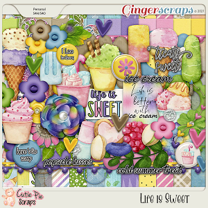Life is Sweet Page Kit