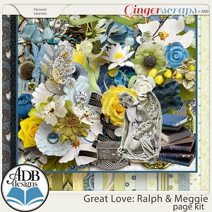 Great Love: Ralph & Meggie Page Kit by ADB Designs