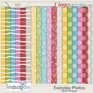 Everyday Photos Pattern Papers by Lindsay Jane