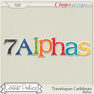 Travelogue Caribbean - Alpha Pack AddOn by Connie Prince