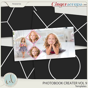 Photobook Creater Vol 9 by Ilonka's Designs