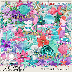 Mermaid Cove by LDragDesigns