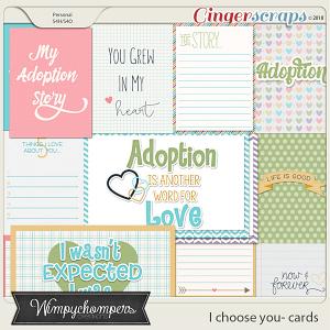 I choose you- Cards