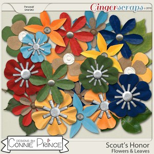 Scout's Honor - Flower & Leaves Pack by Connie Prince