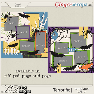 Terror-ific: Templates Vol.2 by LDragDesigns