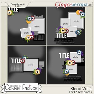 Blend Volume 4 - 12x12 Temps (CU Ok) by Connie Prince