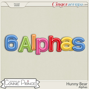 Hunny Bear- Alpha Pack AddOn by Connie Prince