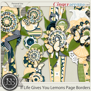 If Life Gives You Lemons Page Borders