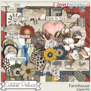 Farmhouse - Kit by Connie Prince