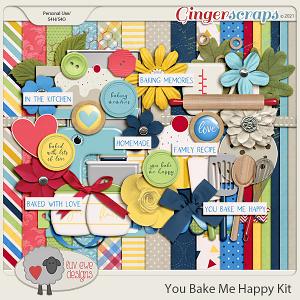 You Bake Me Happy Kit by Luv Ewe Designs