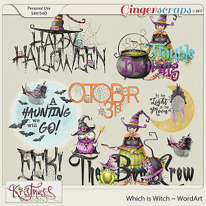 Which is Witch WordArt