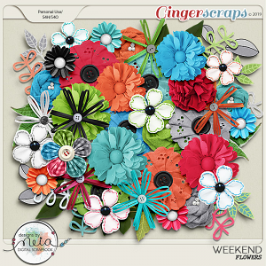 Weekend - Flowers- by Neia Scraps