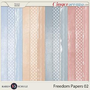 Freedom Paper Pack 2 by Karen Schulz