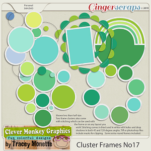 Cluster Frames No17 by Clever Monkey Graphics