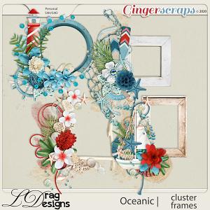 Oceanic: Cluster Frames by LDragDesigns