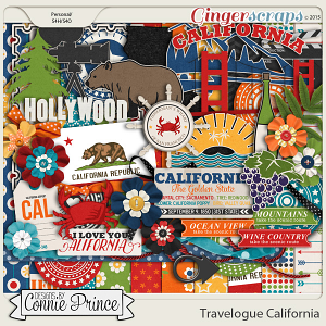 Travelogue California - Kit