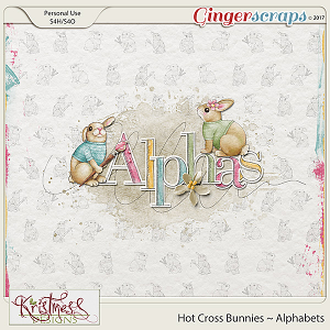 Hot Cross Bunnies Alphabets