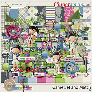 Game Set Match Kit by JoCee Designs