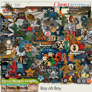 Boy oh Boy by Clever Monkey Graphics