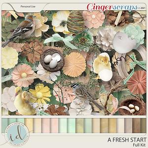 A Fresh Start Full Kit by Ilonka's Designs