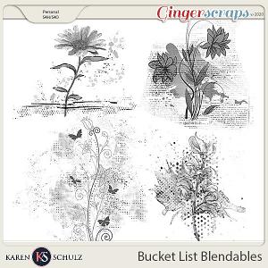 Bucket List Blendables by Karen Schulz