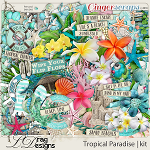Tropical Paradise by LDragDesigns