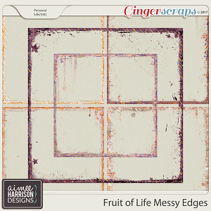 Fruit of Life Messy Edges by Aimee Harrison