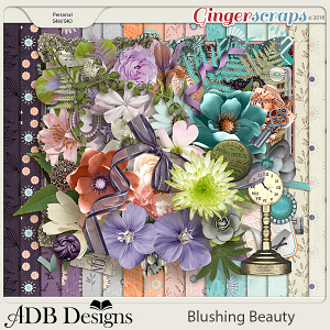 Blushing Beauty Page Kit