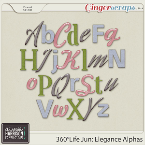360°Life June: Elegance Alpha Sets by Aimee Harrison