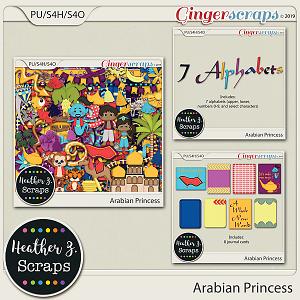 Arabian Princess BUNDLE by Heather Z Scraps