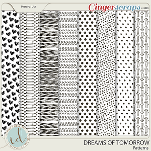 Dreams Of Tomorrow Patterns by Ilonka's Designs