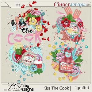 Kiss The Cook: Graffiti by LDragDesigns