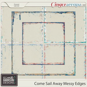 Come Sail Away Messy Edges by Aimee Harrison