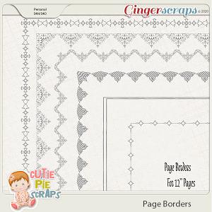 Page Borders 37 By Cutie Pie Scraps
