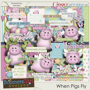 When Pigs Fly by BoomersGirl Designs