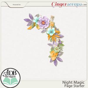 Night Magic Cluster Gift 03 by ADB Designs