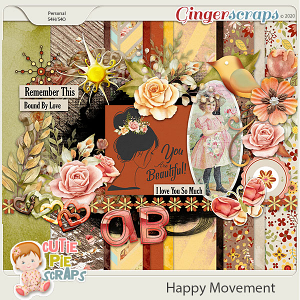 Happy Movements Page Kit