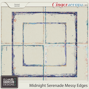 Midnight Serenade Messy Edges by Aimee Harrison