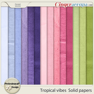 Tropical vibes Solid papers
