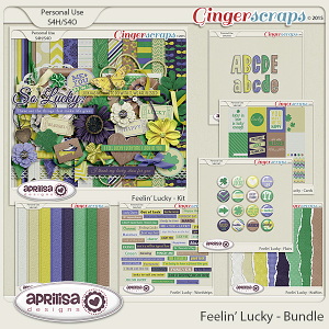Feelin' Lucky - Bundle by Aprilisa Designs