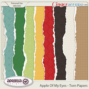 Apple Of My Eye - Torn Papers