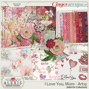 I Love You, More - Artsy Add-On Collection (Limited Time)