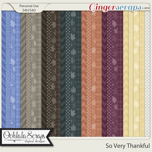 So Very Thankful Pattern Papers