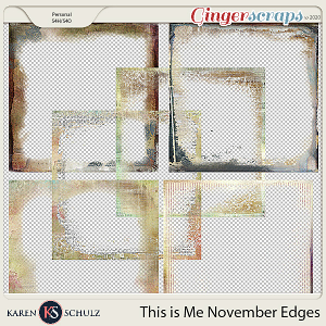 This is Me November Edgers by Snickerdoodle Designs