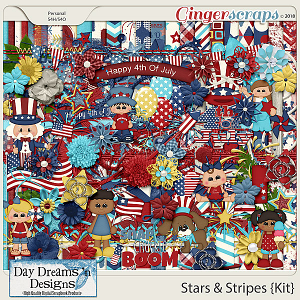 Stars and Stripes {Kit} by Day Dreams 'n Designs