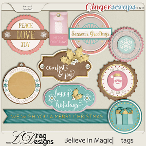 Believe In Magic: Tags by LDragDesigns