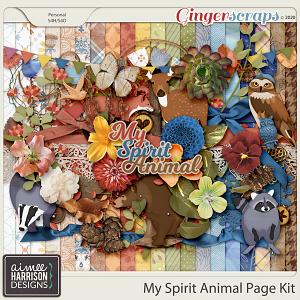 My Spirit Animal Page Kit by Aimee Harrison