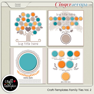 Craft-Templates Family Ties Vol 2