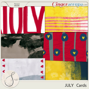 July Journal Cards