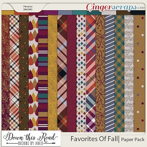 Favorites Of Fall | Paper Pack